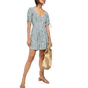 NWT Free People Lace Up Mini Dress